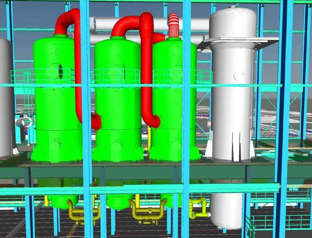 design of a sugar factory with falling film evaporators