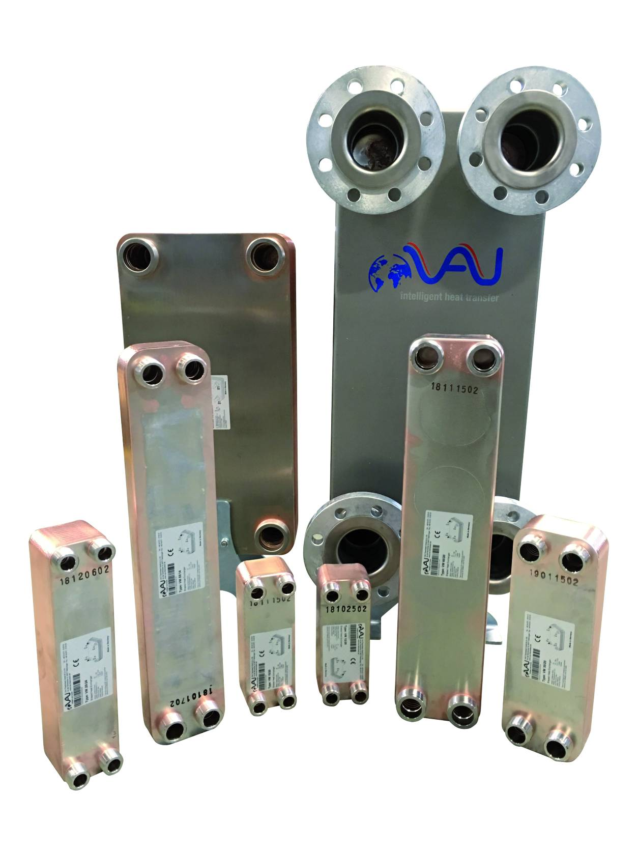 brazed plate heat exchangers can be delivered within 24 hours